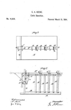 1864-cattle stacnhion patent-KEENE-george augustus-lynn-MA.JPG